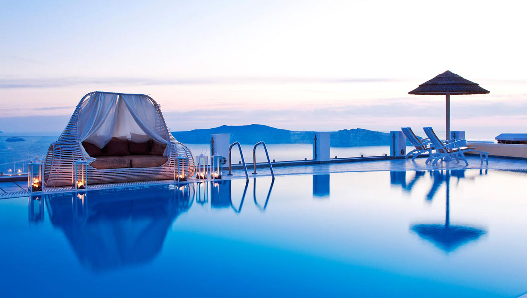 Santorini princess spa hotel official booking engine for Hotel a santorin
